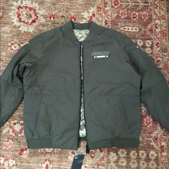 Nike NFL Chargers Salute To Service Jacket XXL new 22cf6dcaa